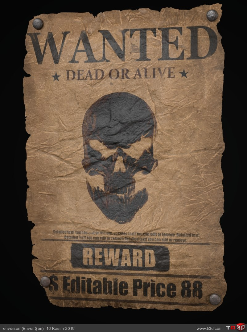 WANTED (poster) 1