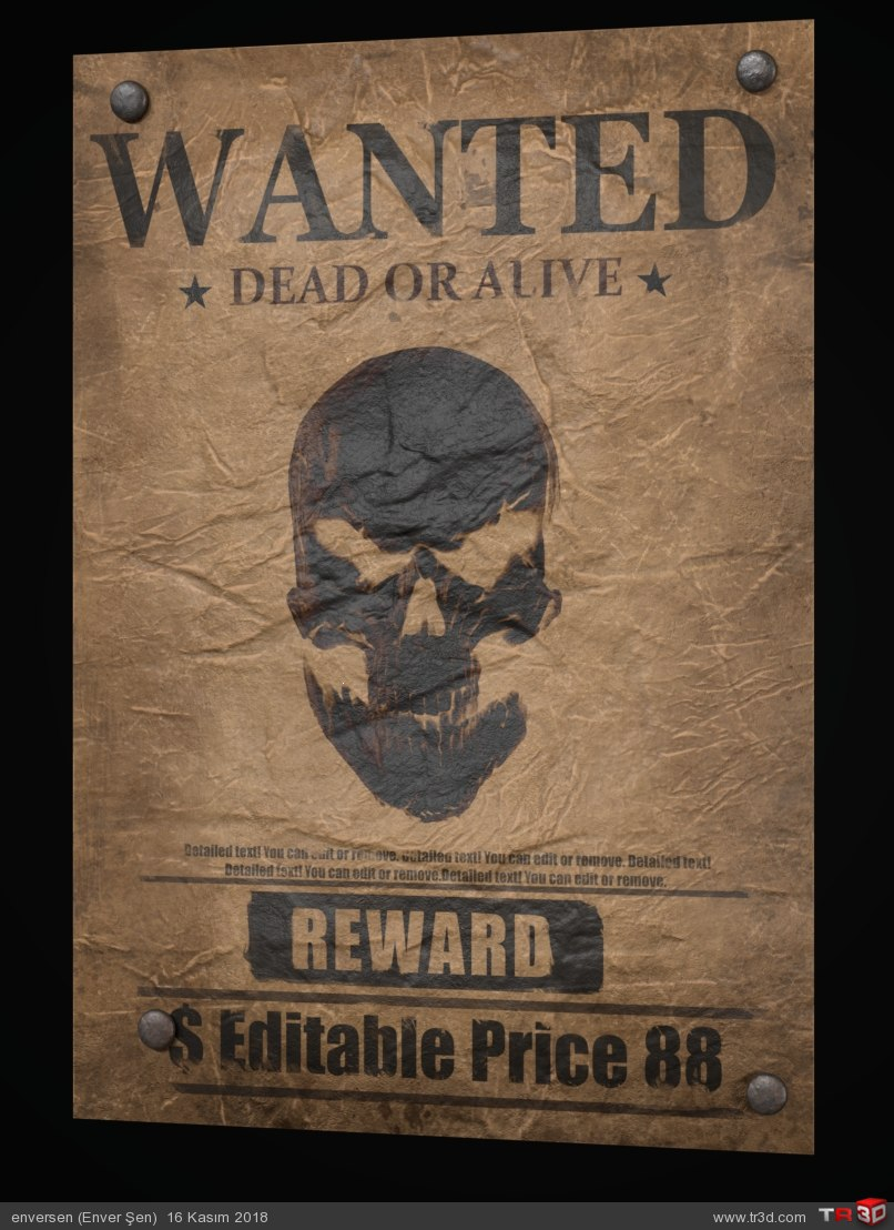 WANTED (poster) 2