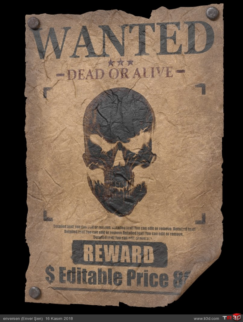 WANTED (poster) 3