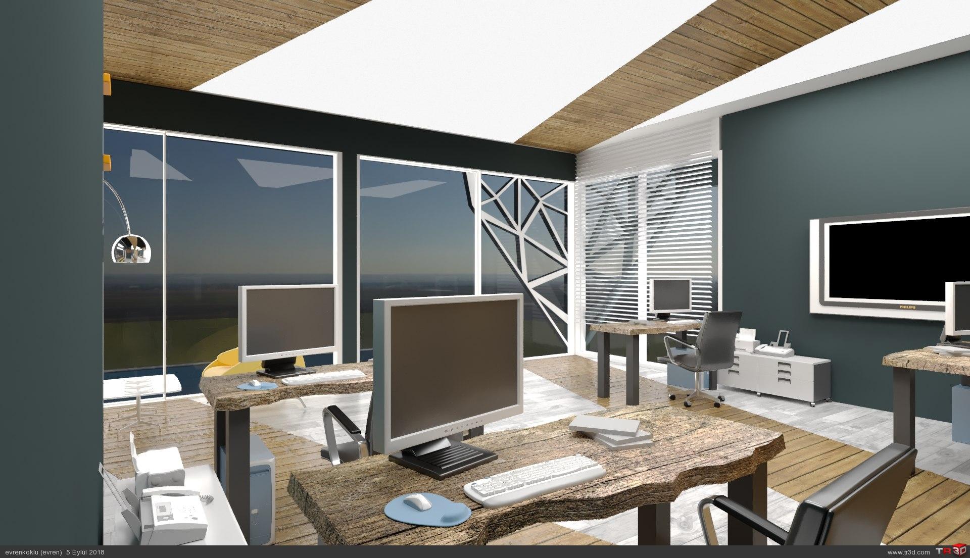 ofis tasarımı-ticari çalışma 3