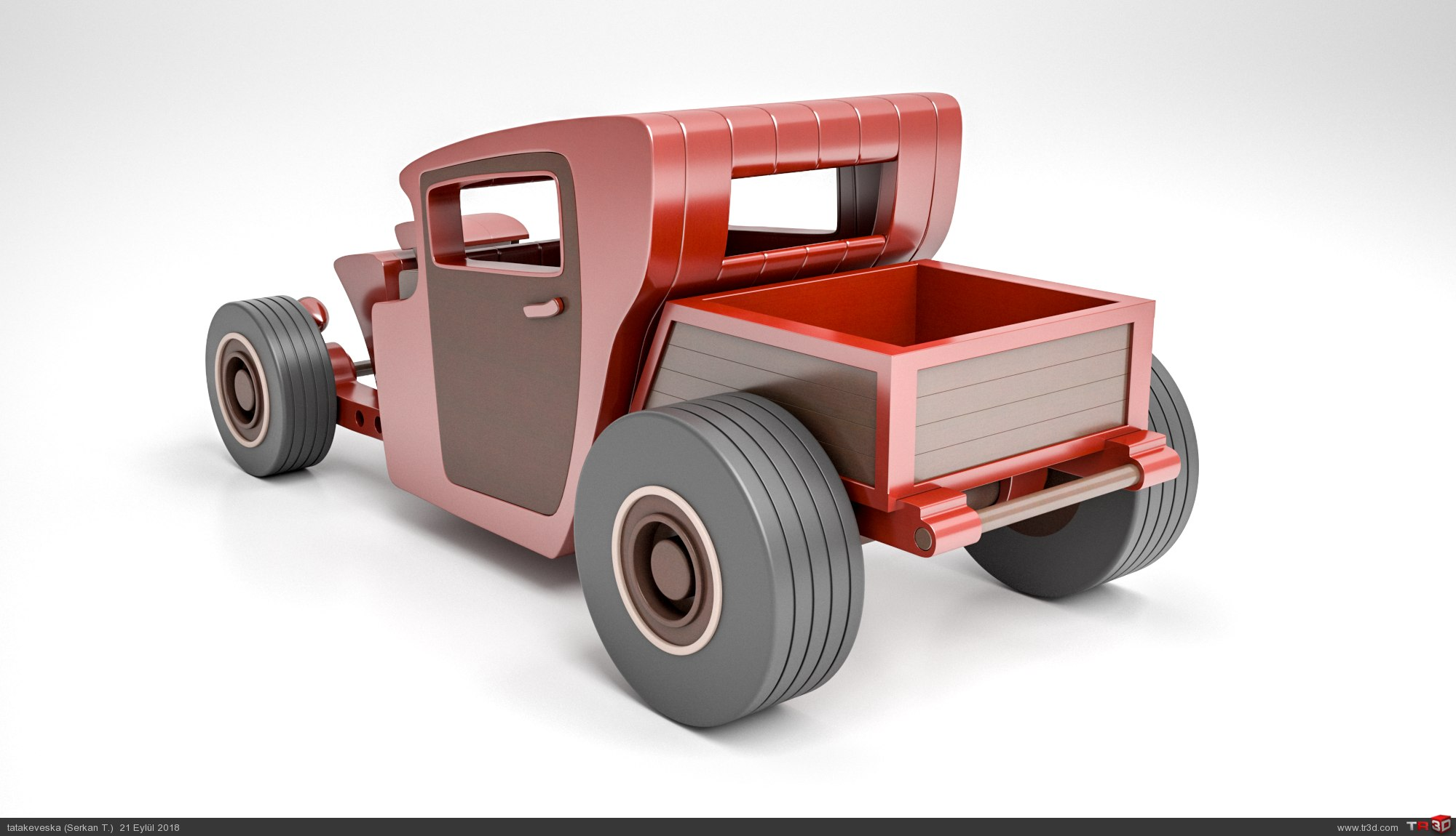 Hot Rod Pickup 1