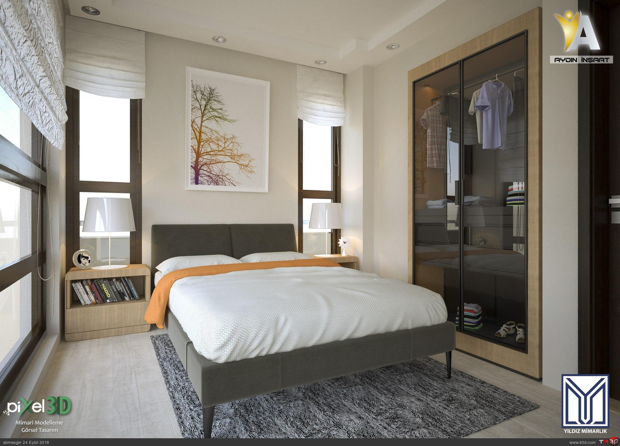 Gölbaşı Yatak Odası