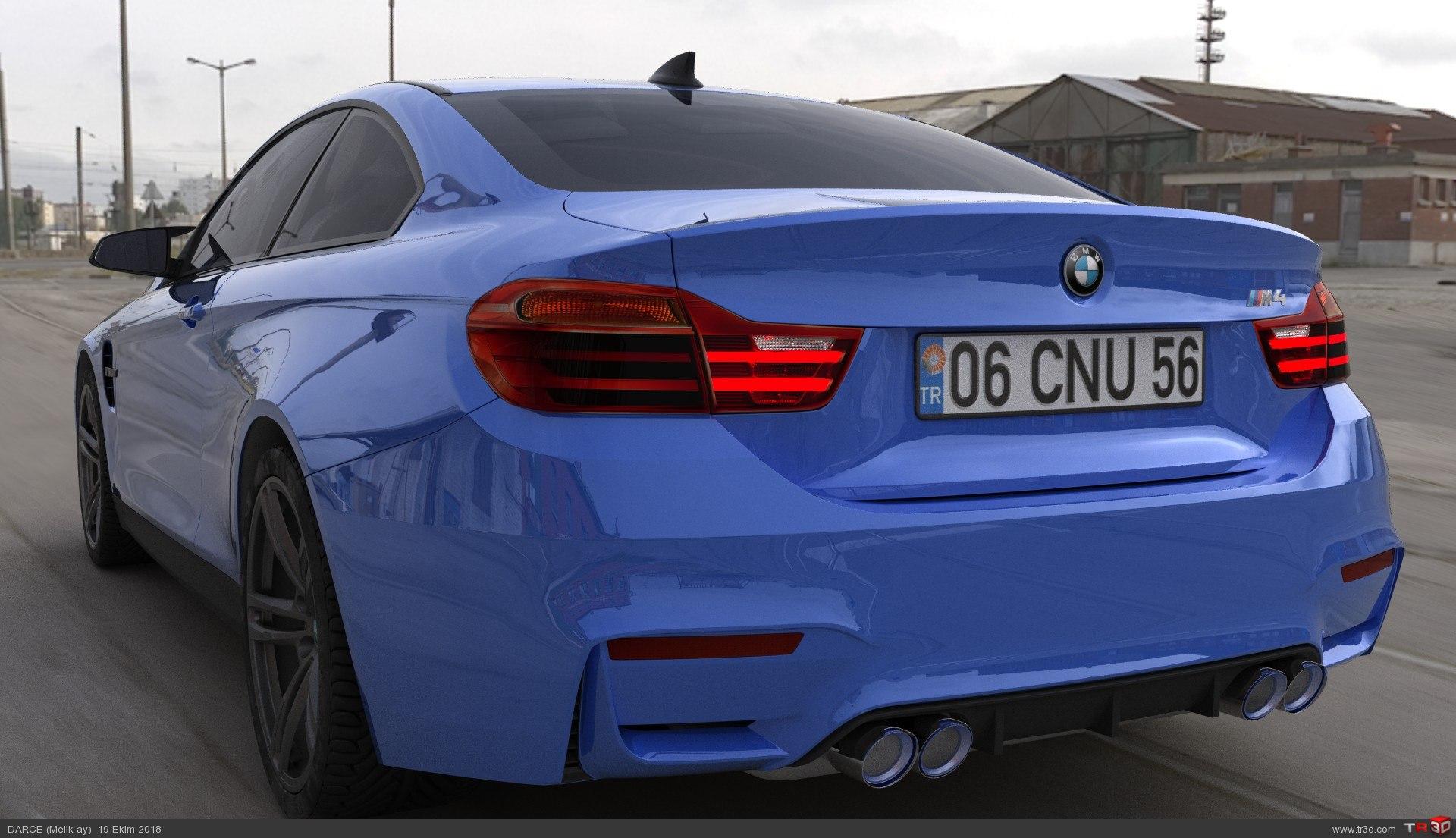 BMW M4 RENDER 1