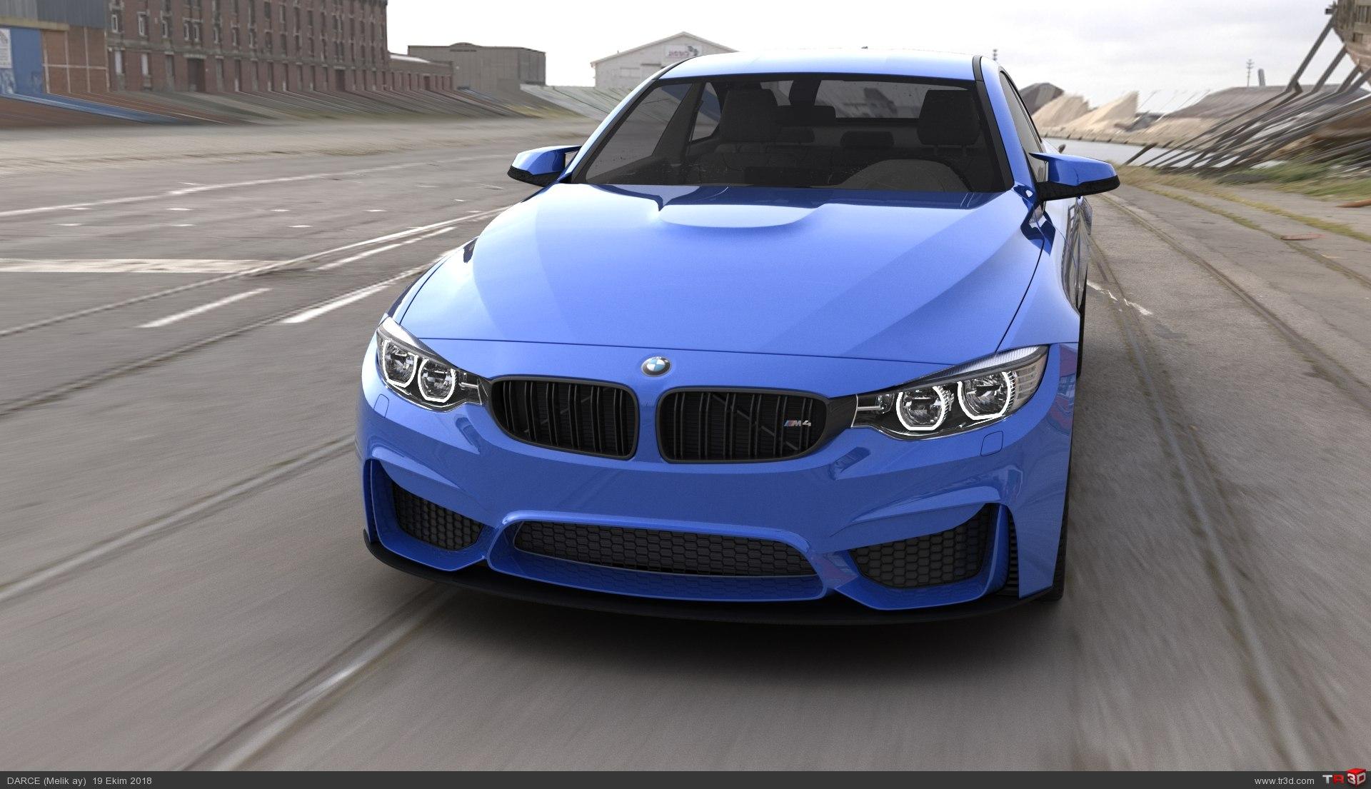 BMW M4 RENDER 2