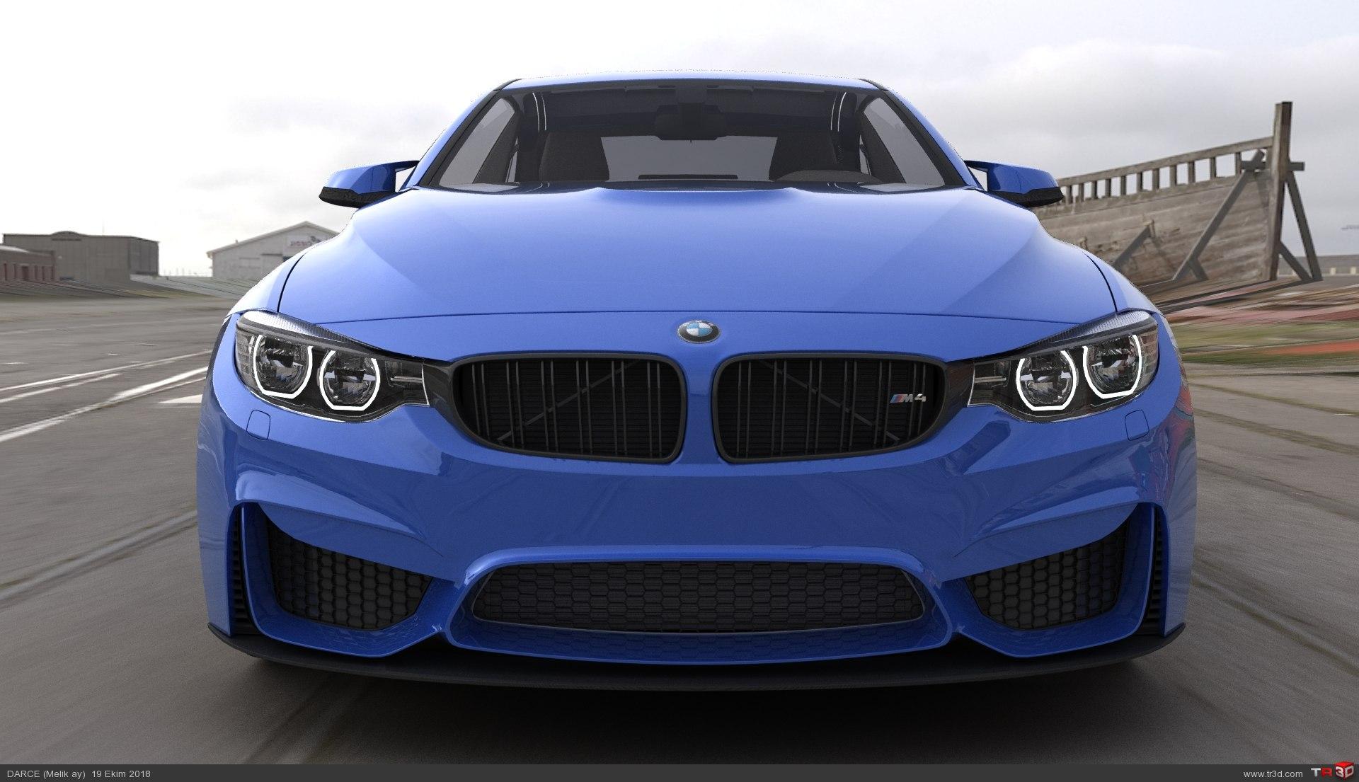BMW M4 RENDER 3