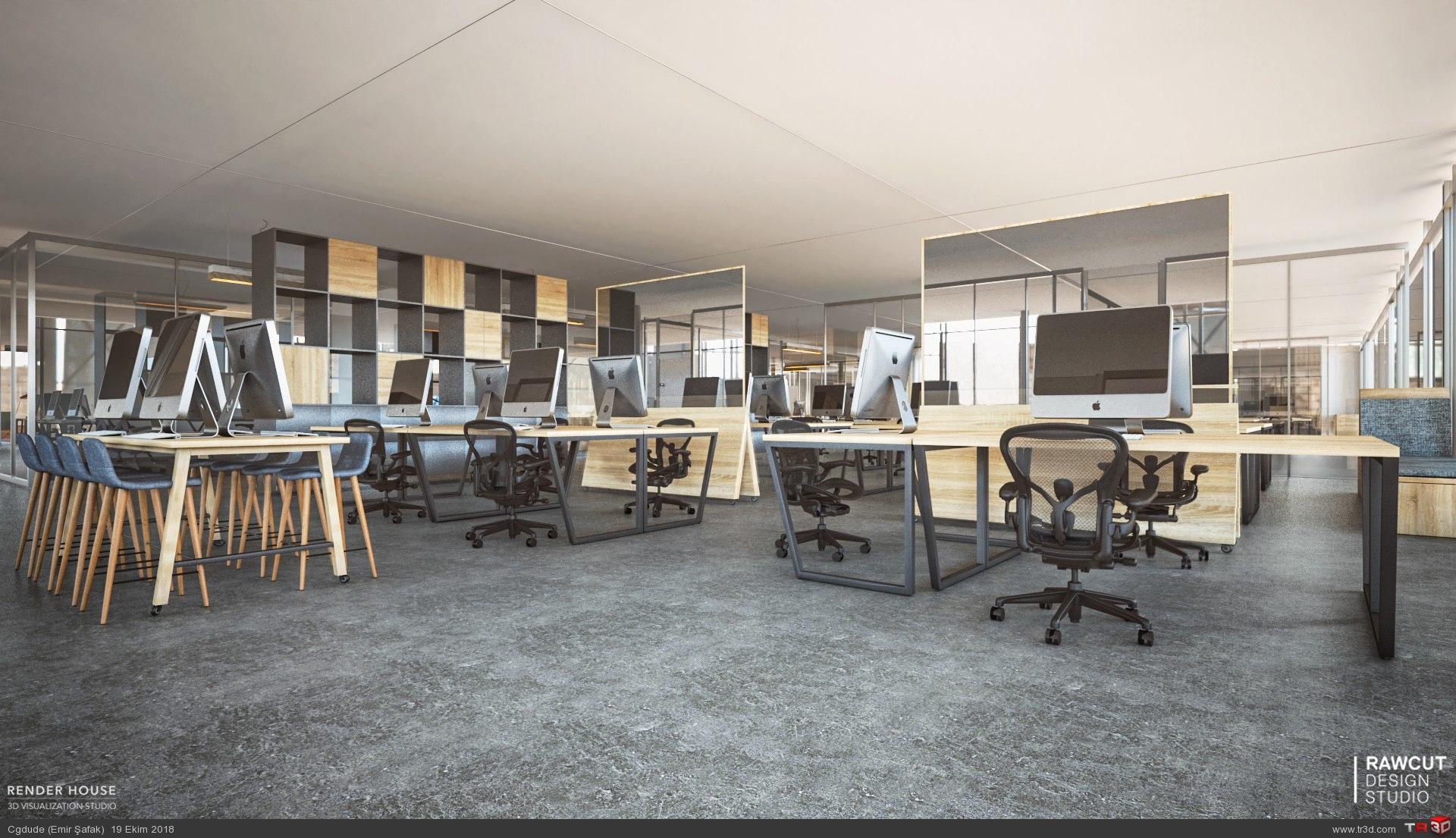 Promotion Tools Ofis renderları 2