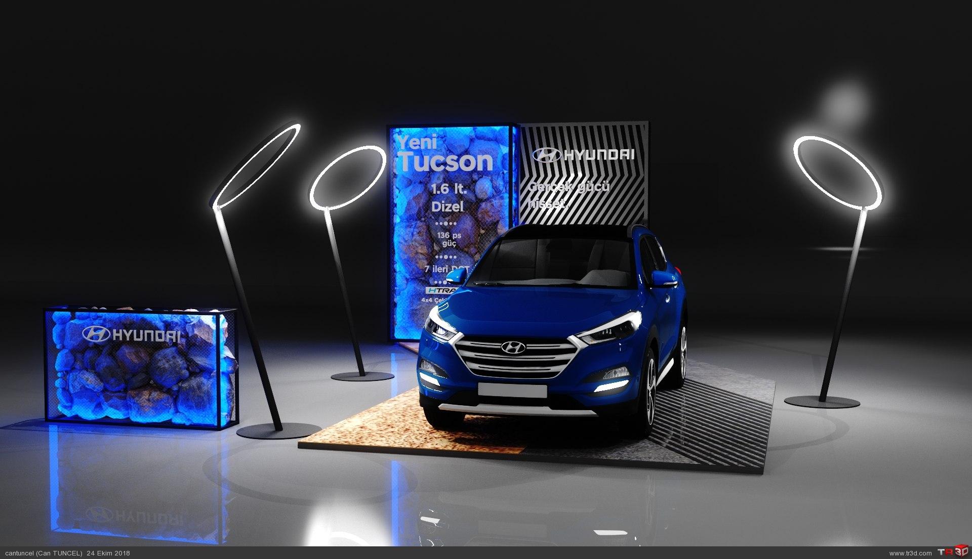 Car Display Stand 1
