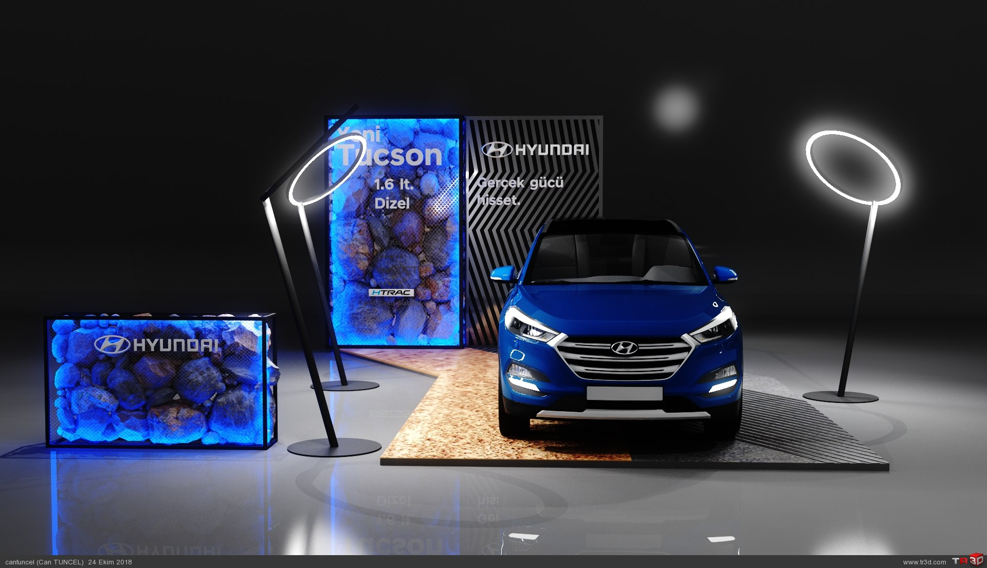 Car Display Stand 2