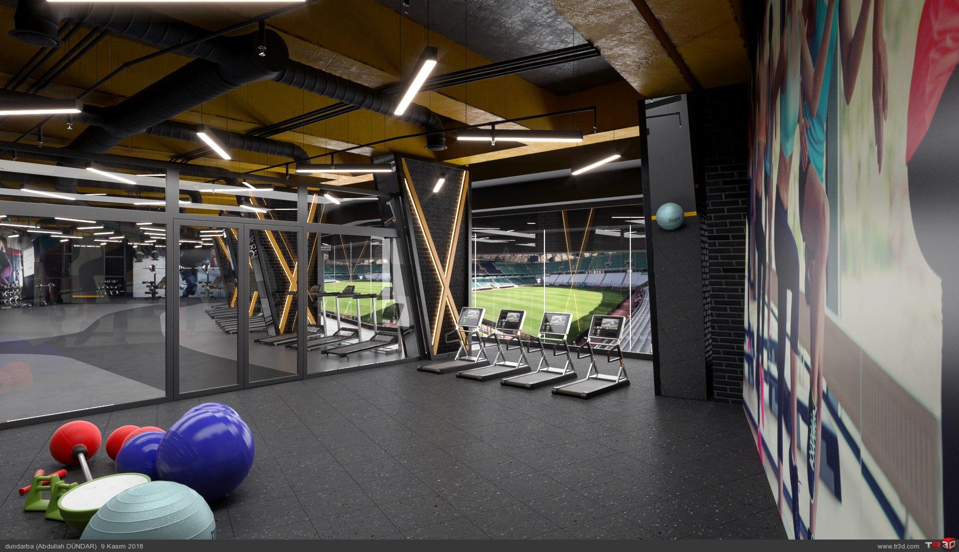 Fitness Salonu 1