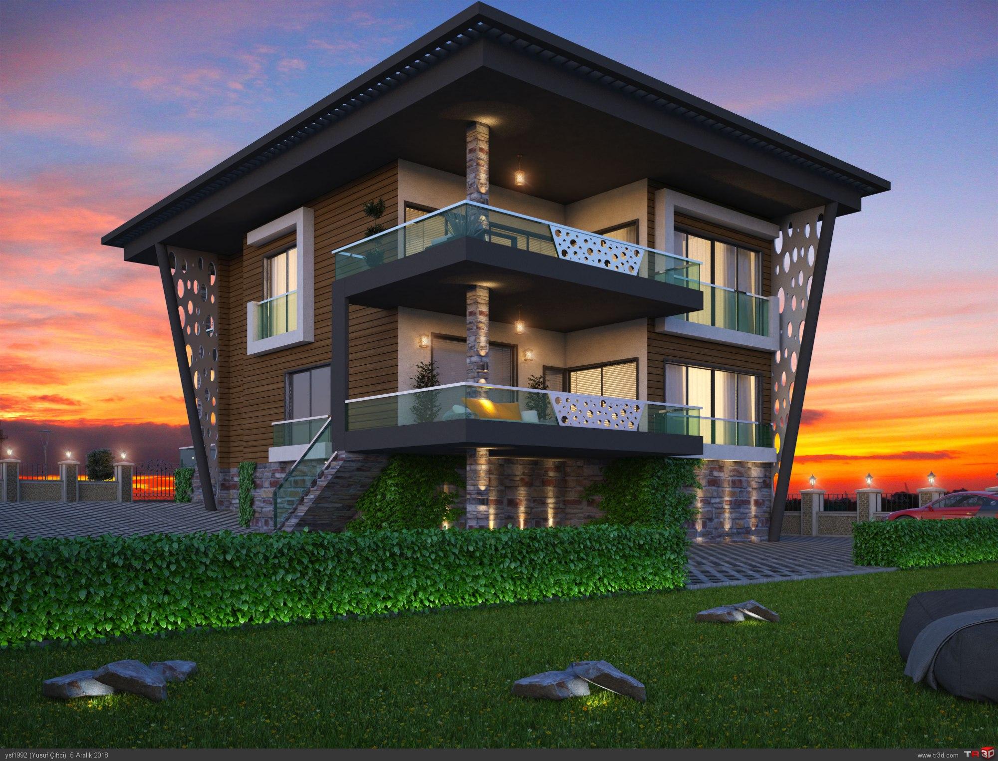 Ankara Modern Villa 1