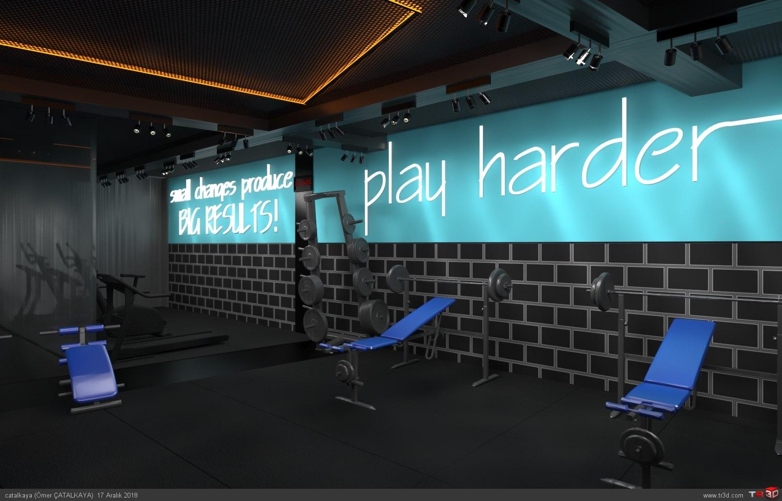 Gym Center Projesi