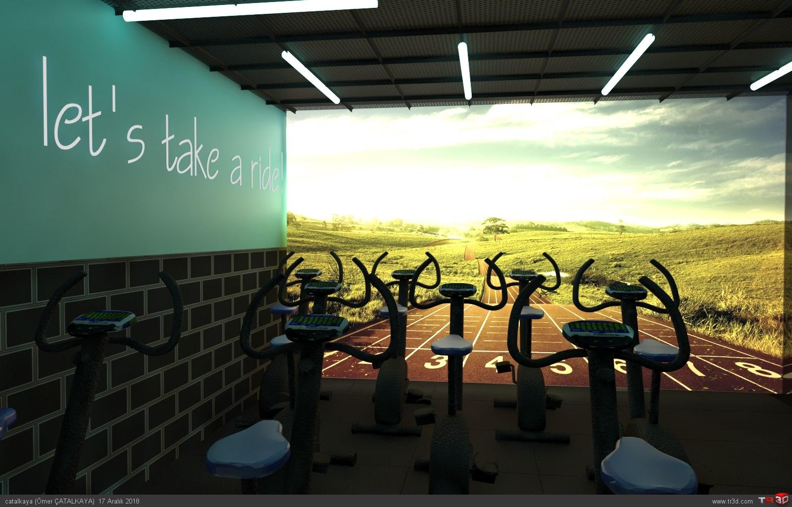 Gym Center Projesi 1
