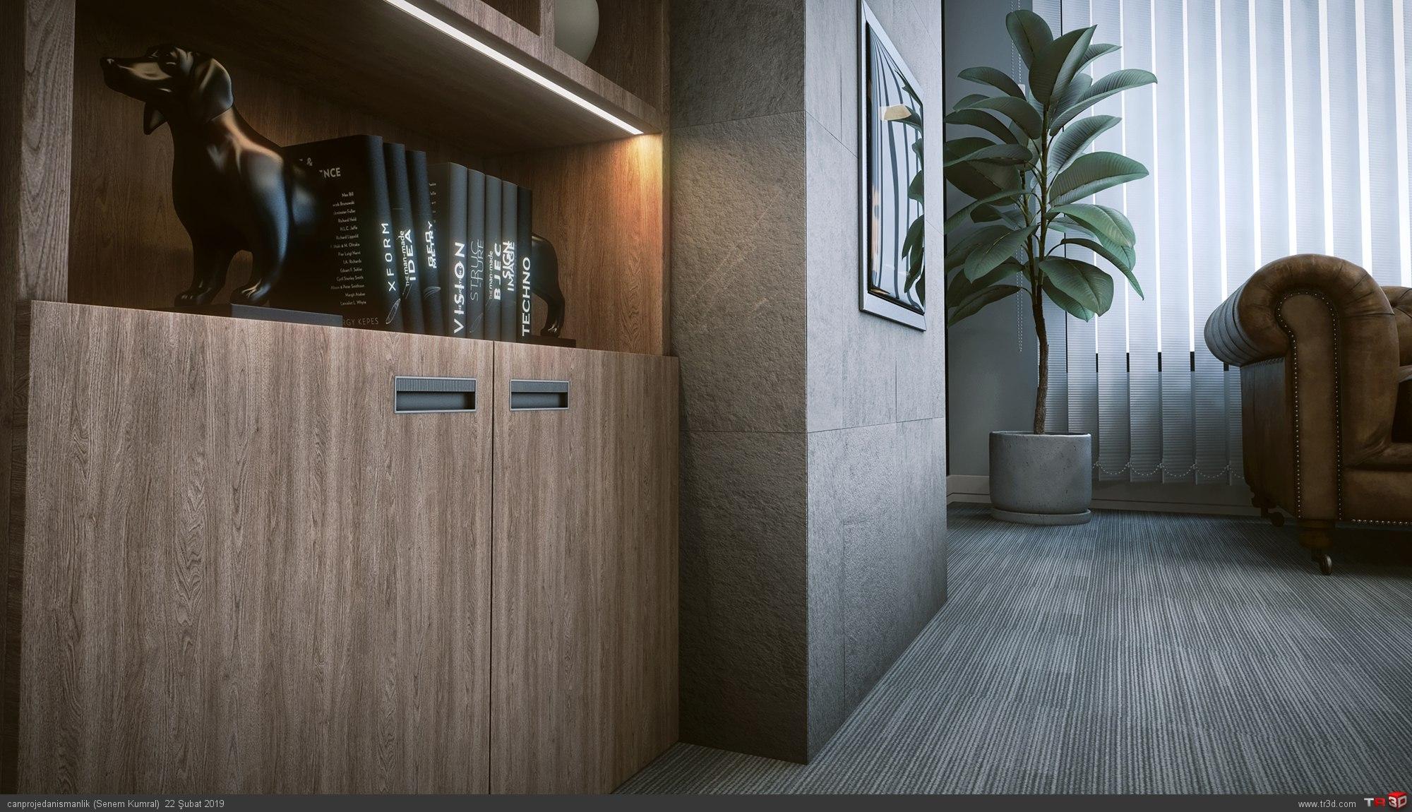 Ofis İç Mekan Tasarımı