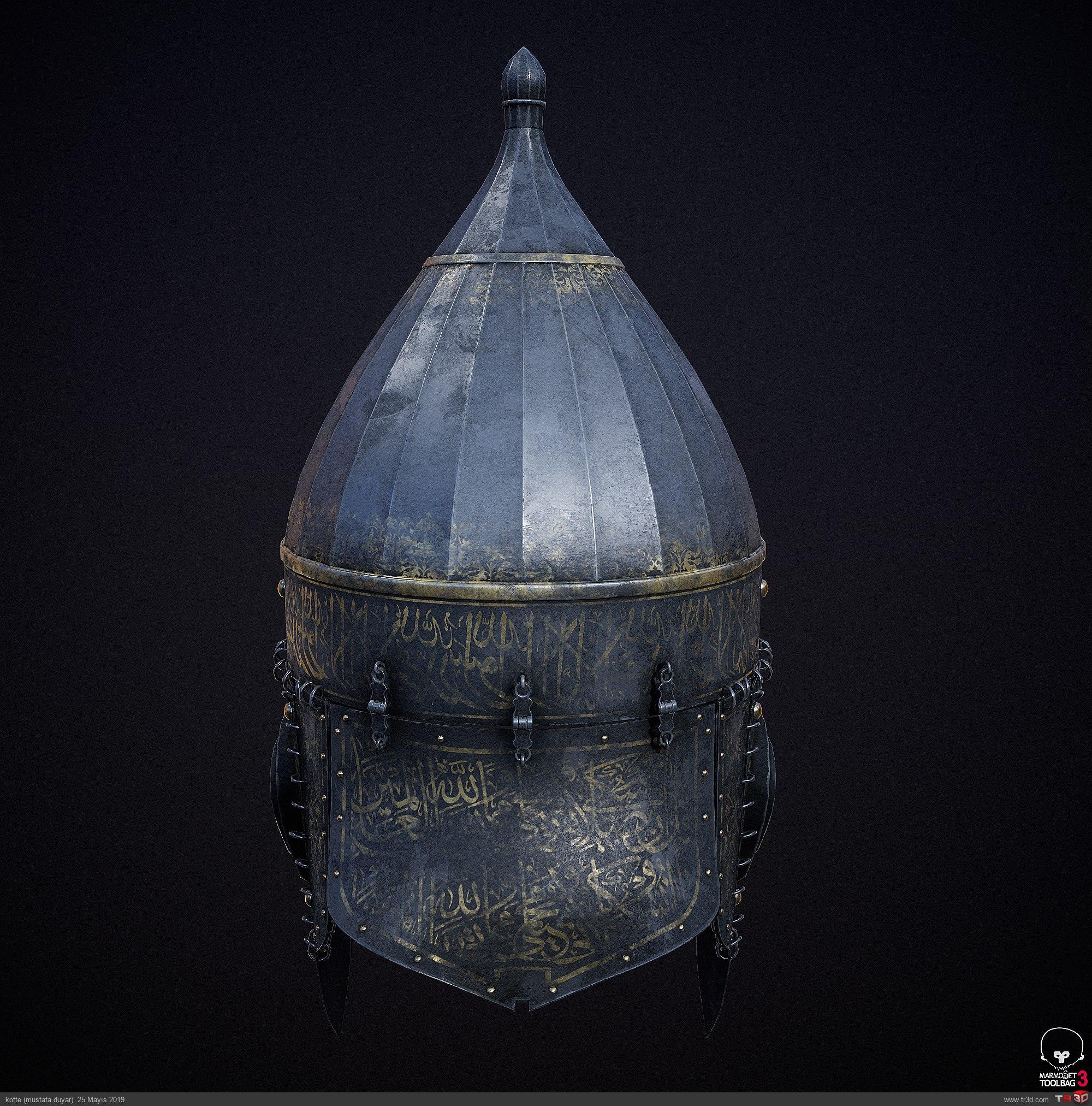 Osmanlı Miğferi - Oyun Modeli 1