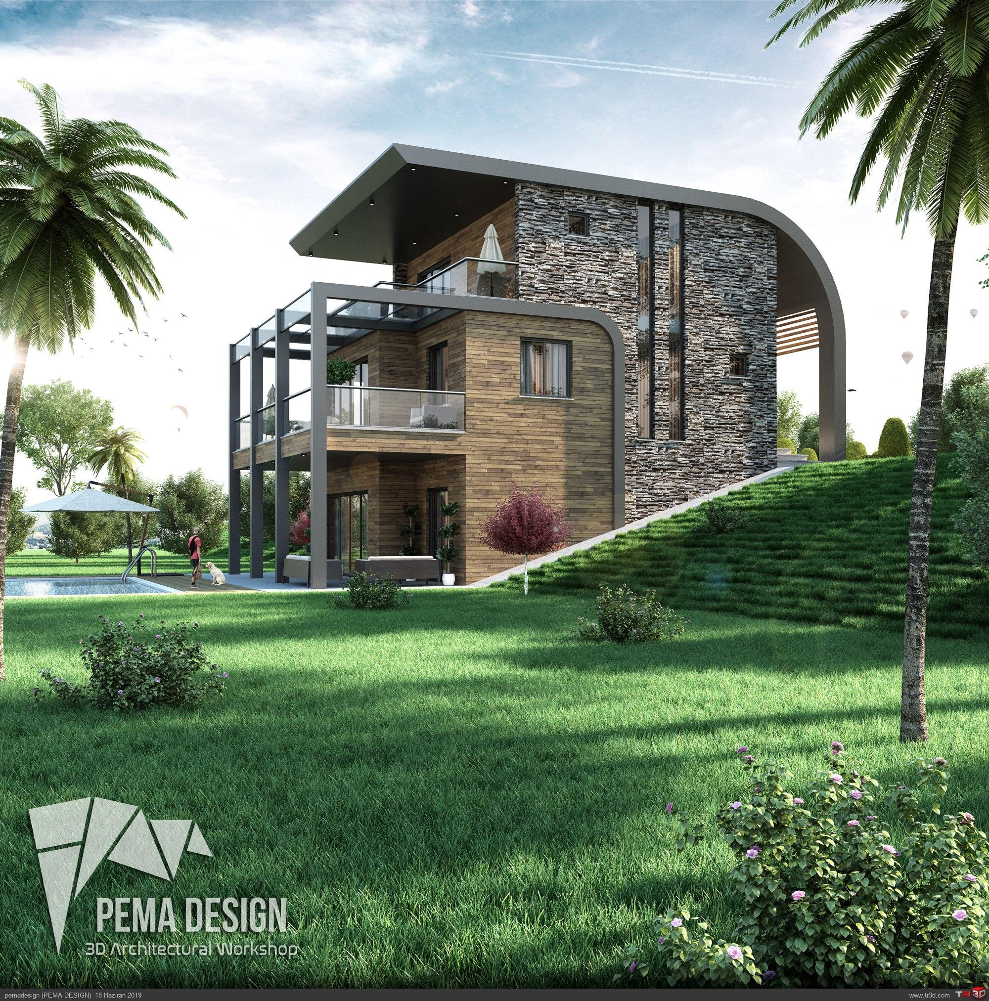 Modern Villa Tasarım