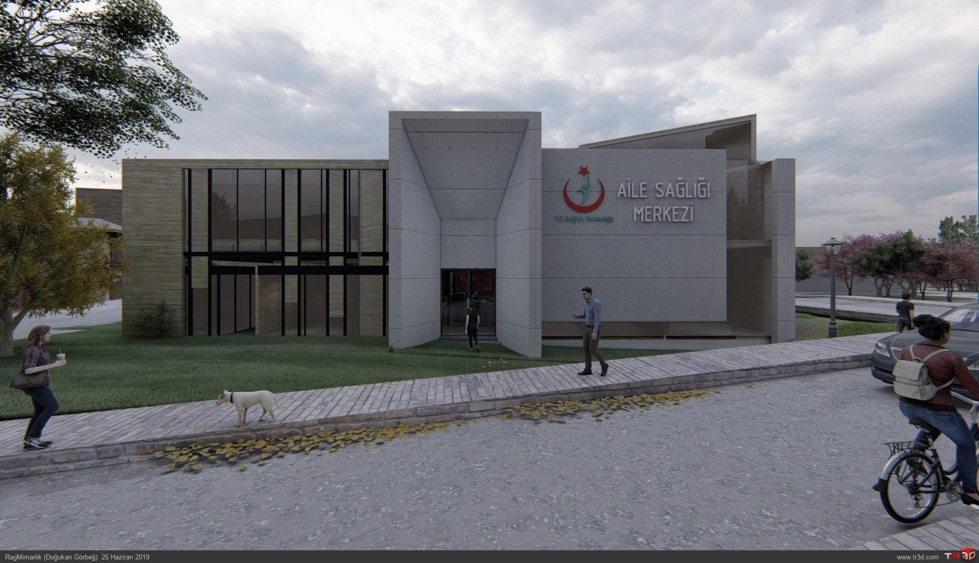 Sağlık Merkezi Projesi 2