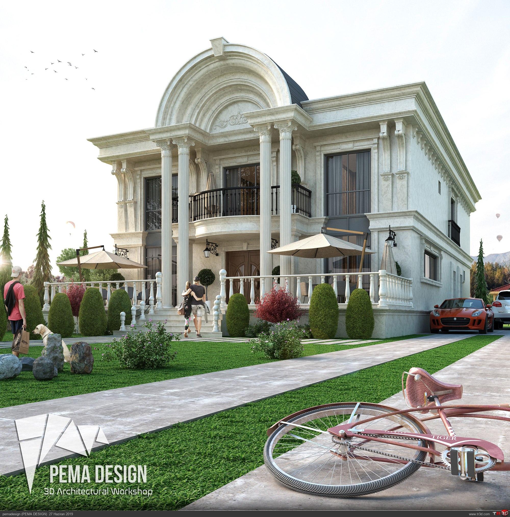 Klasik Villa Tasarım