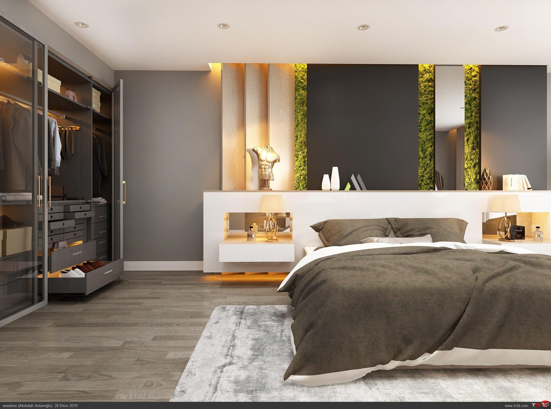 Yatak Odası Consept