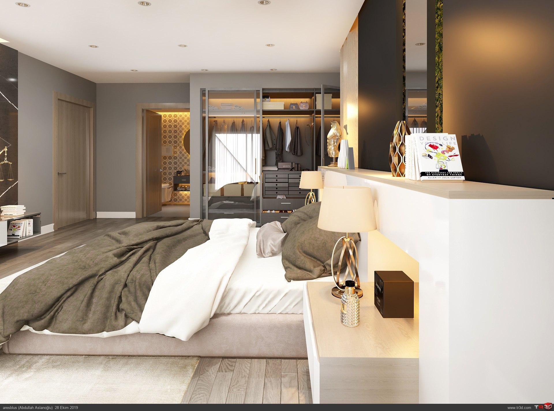 Yatak Odası Consept 1