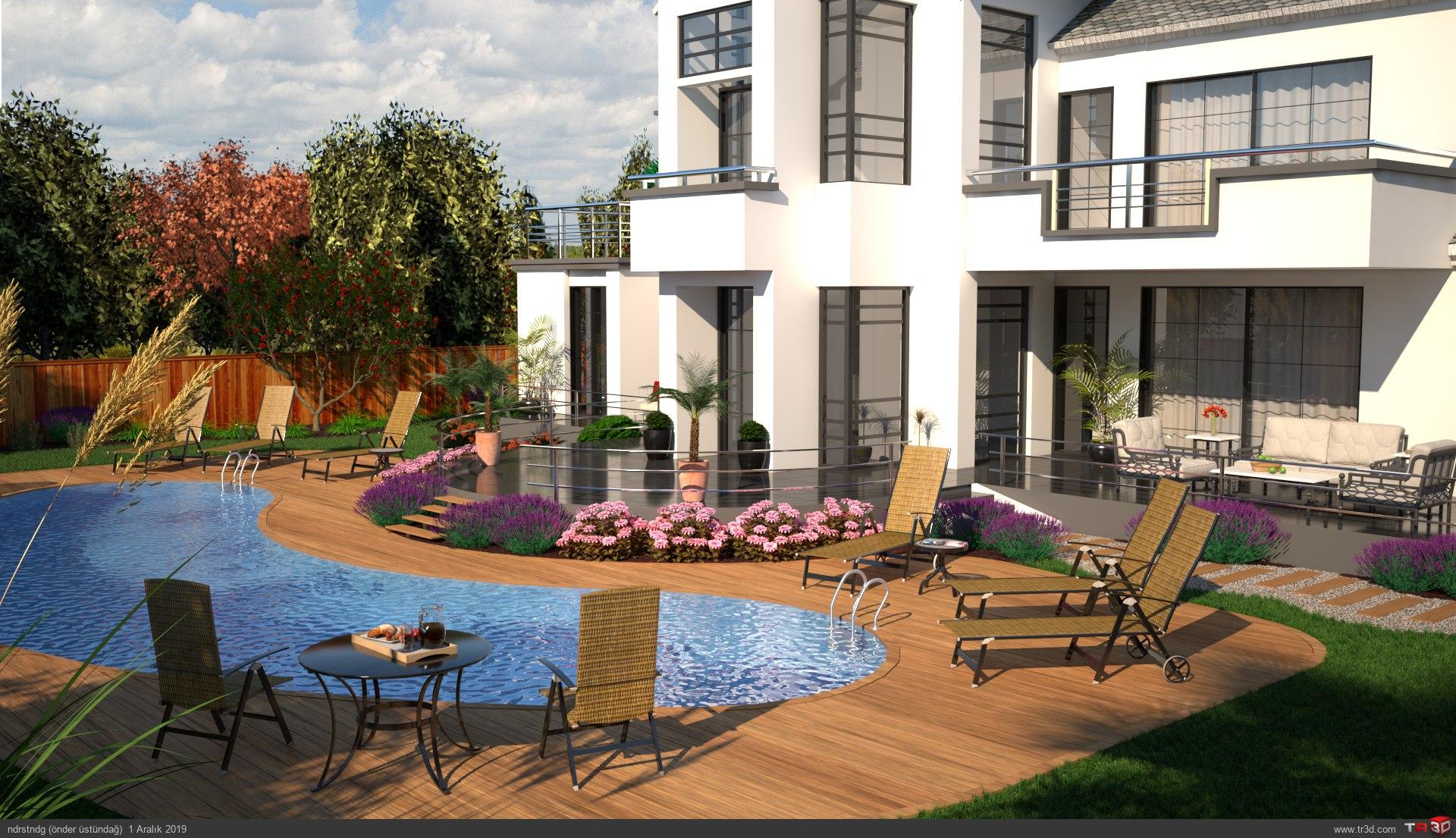Villa bahçe 1