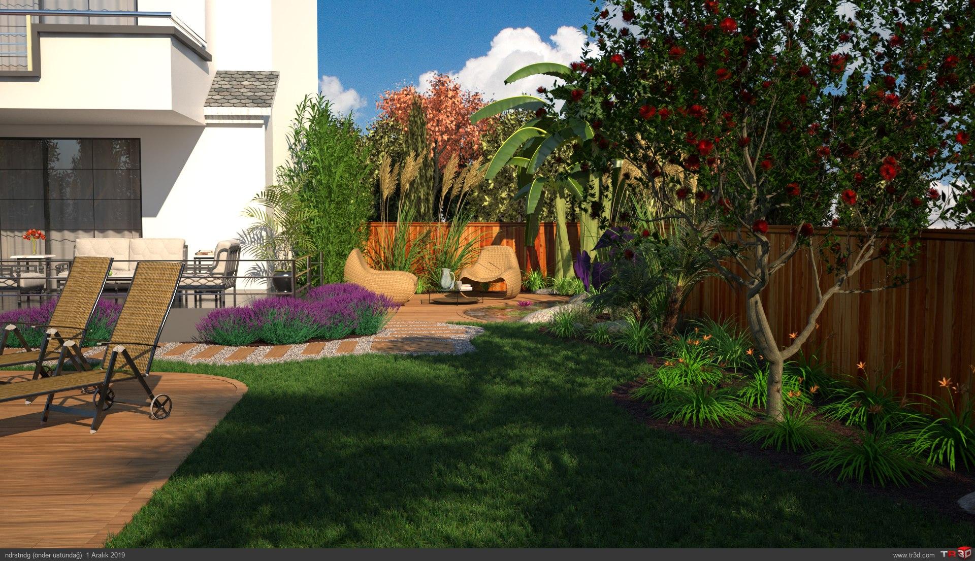 Villa bahçe 2