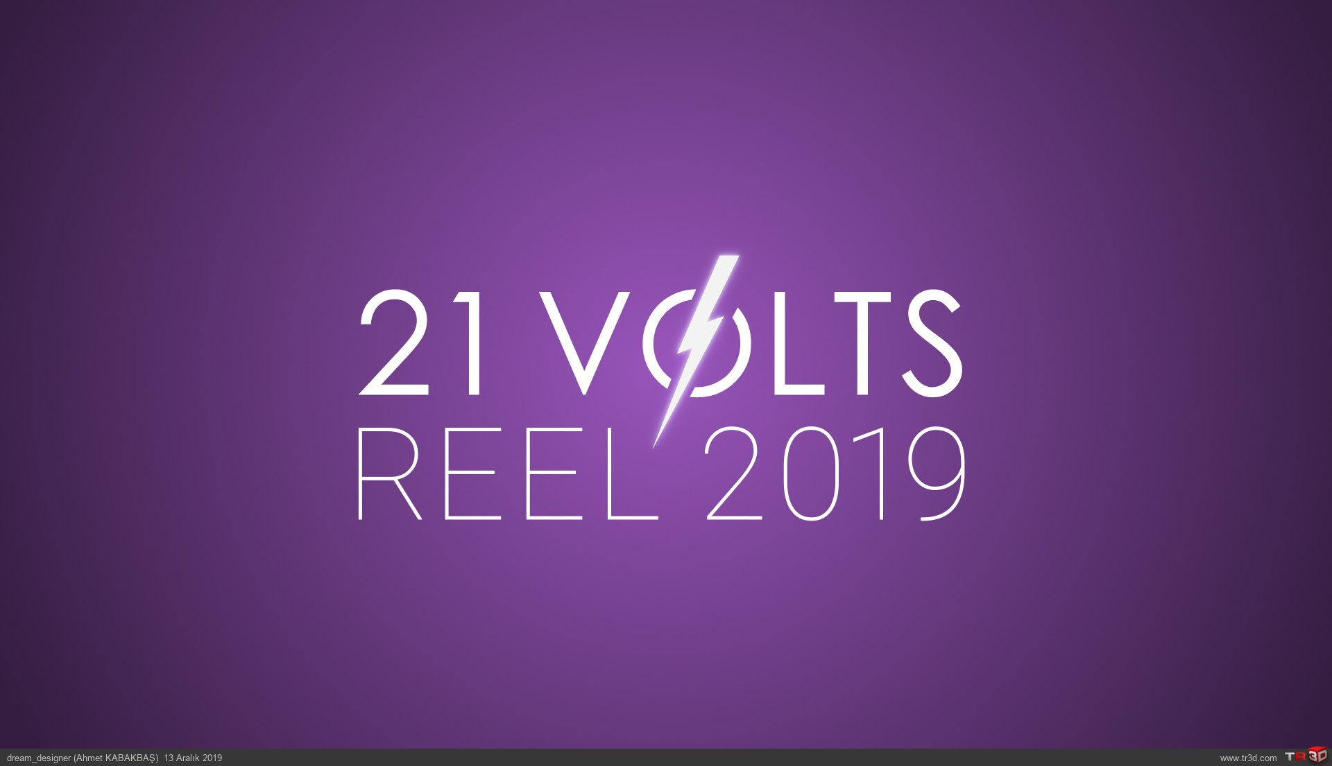 21 Volts Creative - Motion Reel 2019