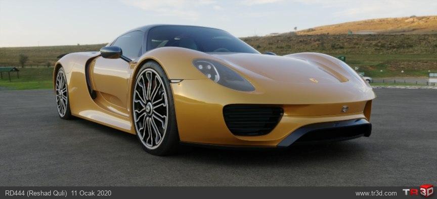 Porsche918RD