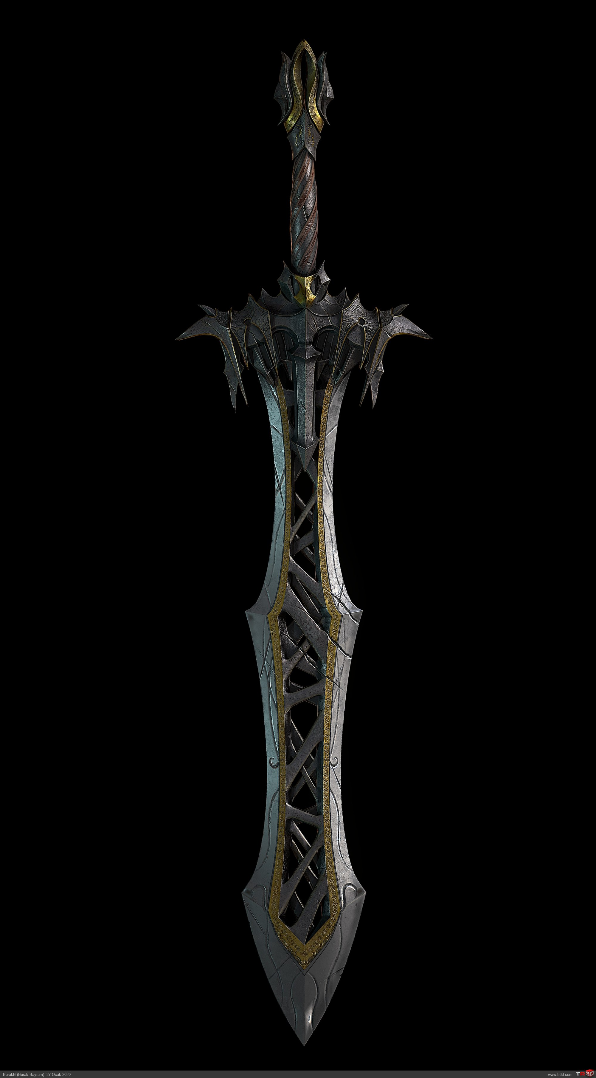 Solo Warrior Woman Sword 1