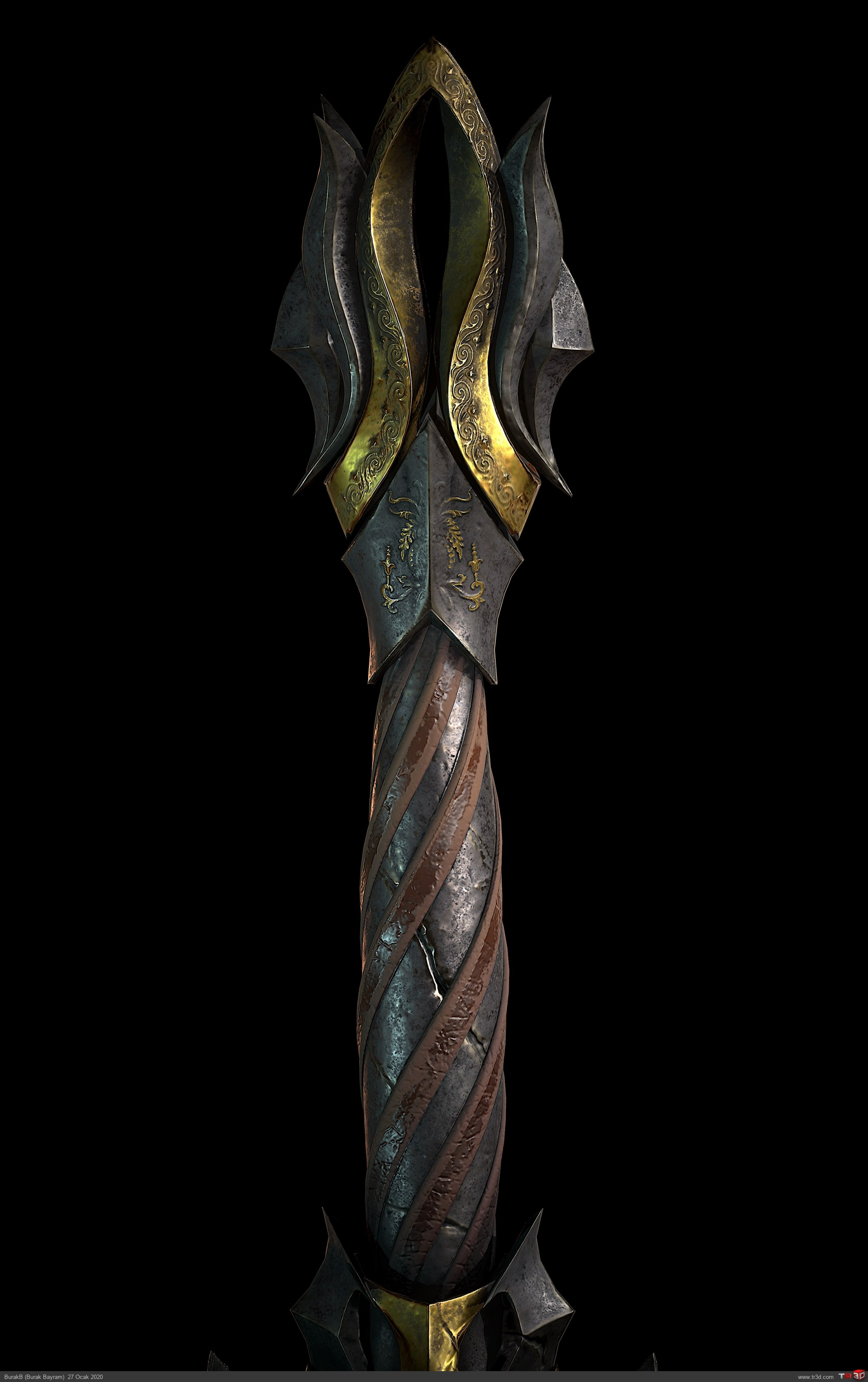 Solo Warrior Woman Sword 2