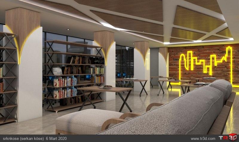 Kütüphane ve Çalışma Salonu