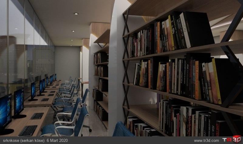 Kütüphane ve Çalışma Salonu 1