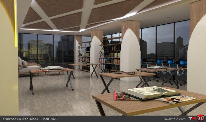Kütüphane ve Çalışma Salonu 2