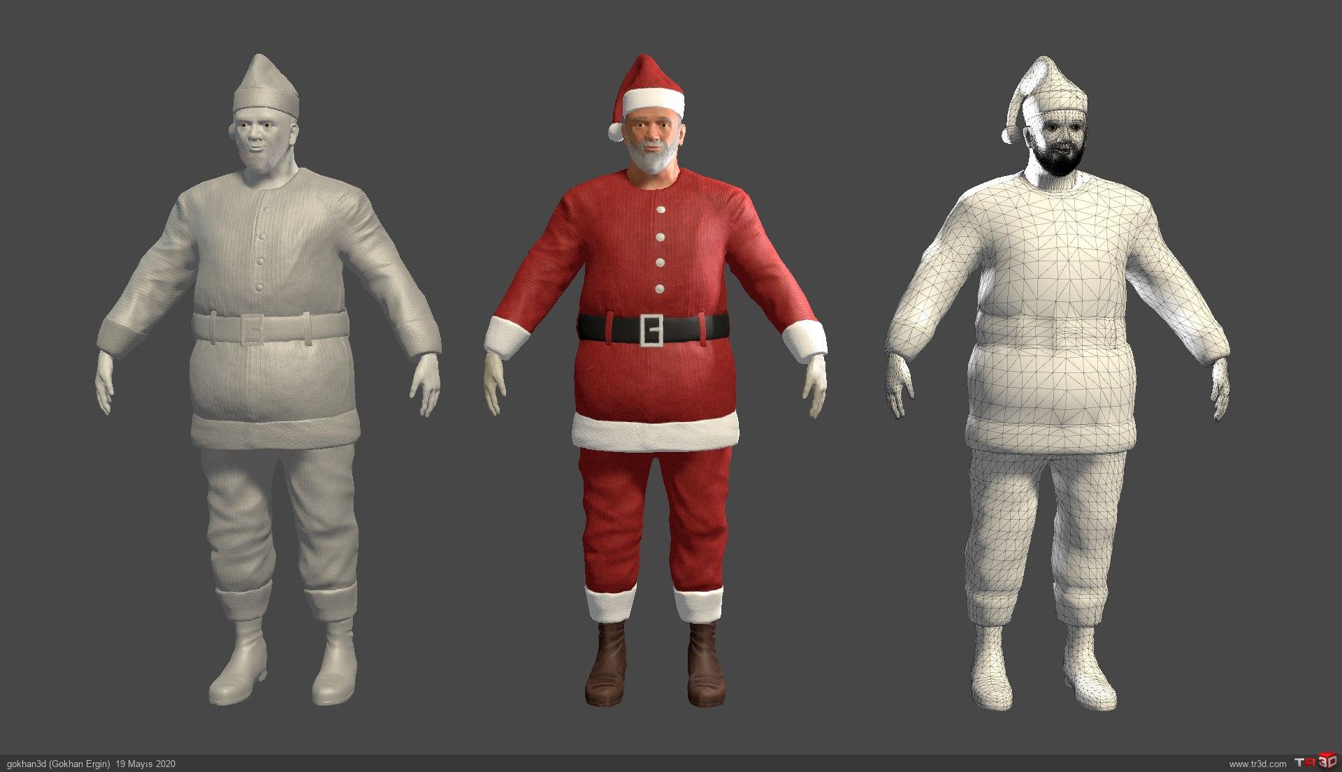 Noel Baba Ücretsiz Oyun Modeli
