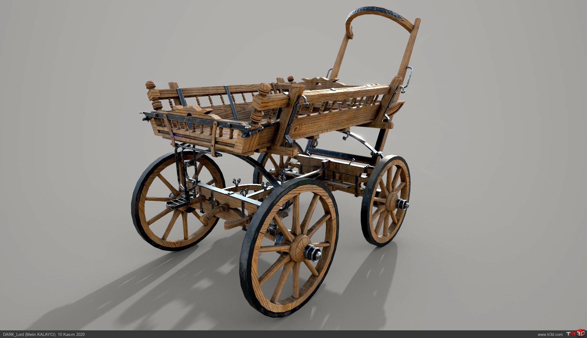 At arabası 3