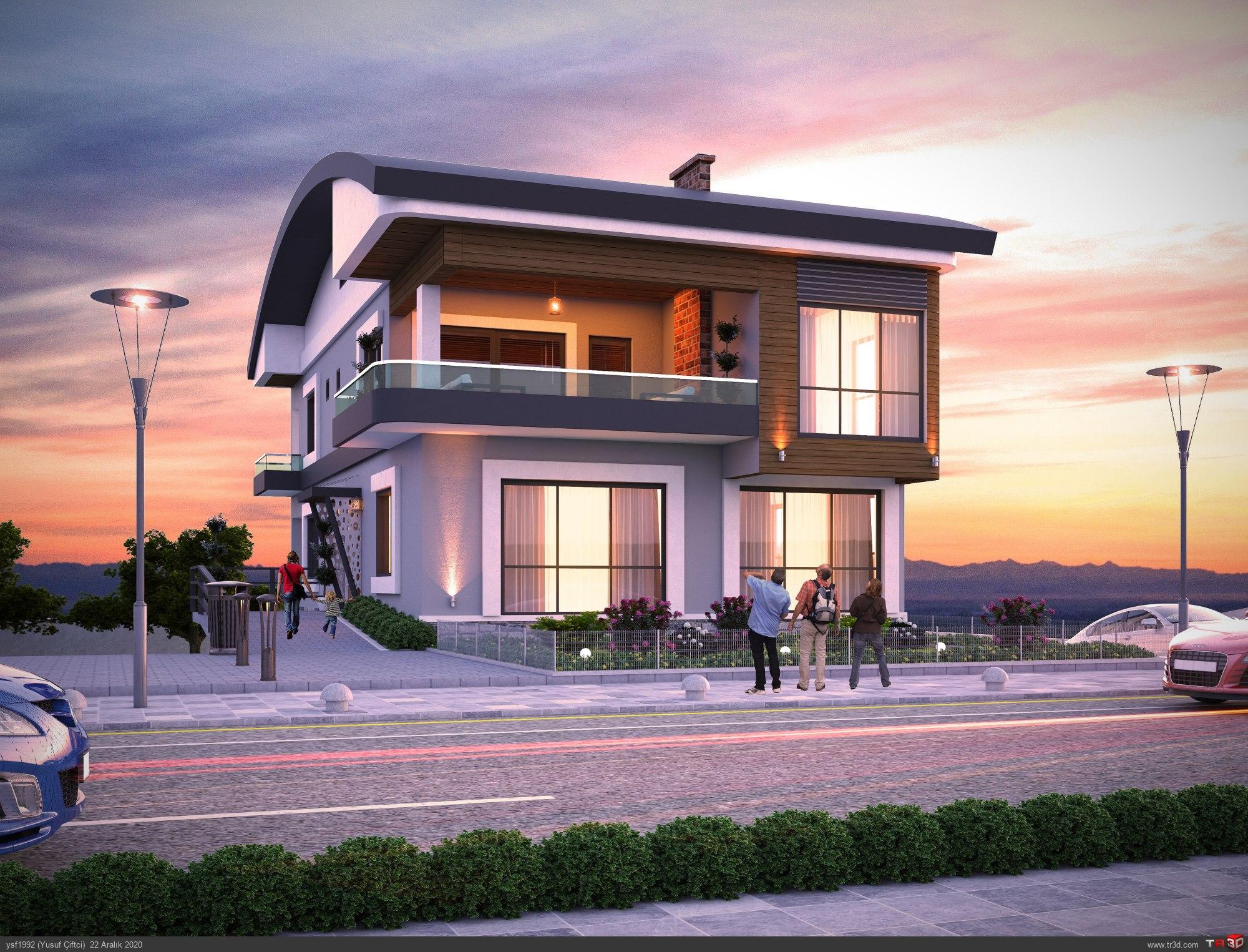 Yenimahalle Modern Villa