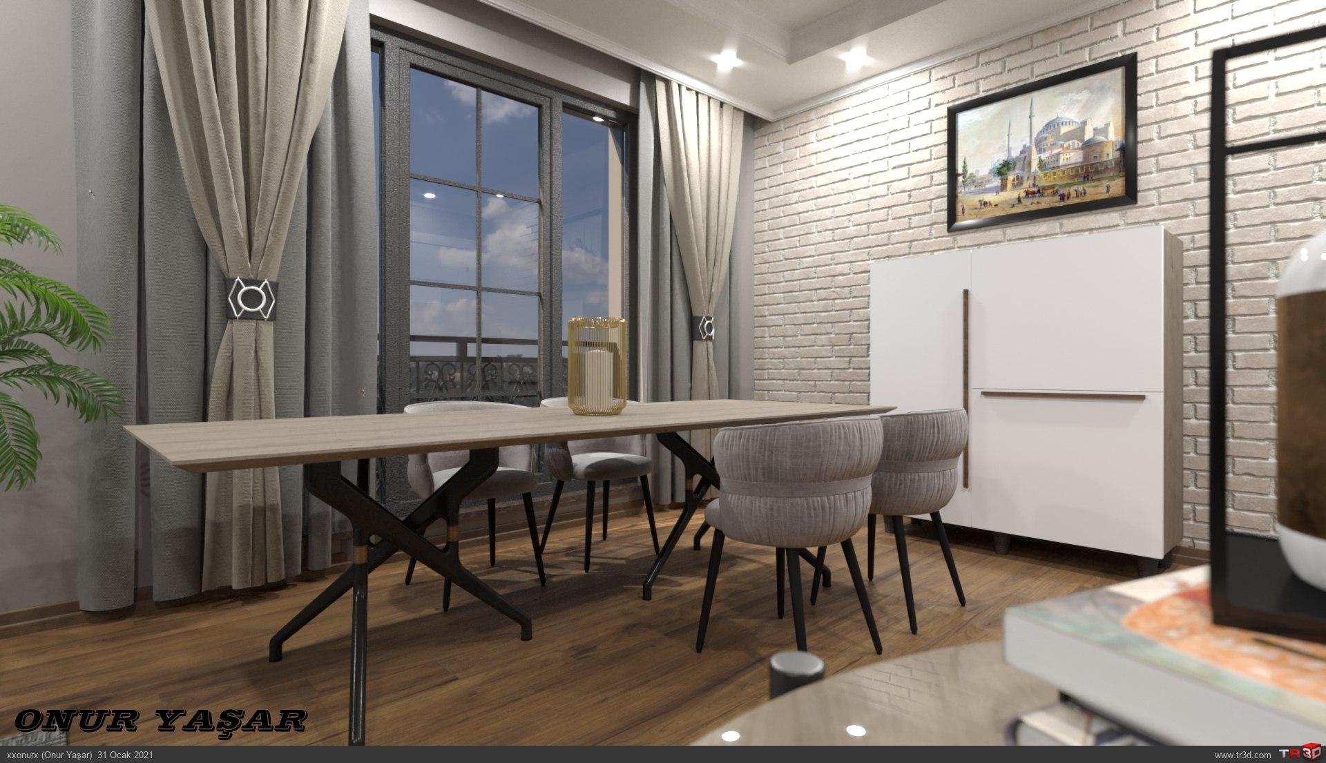 Long Living Room 1