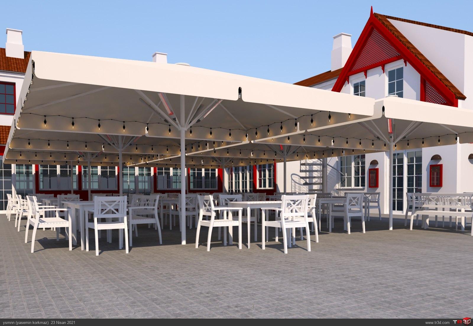 Ruths Hotel Parasol 1