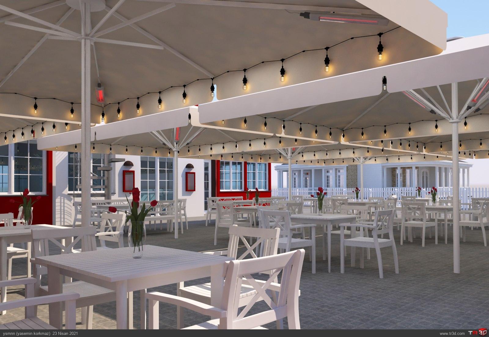 Ruths Hotel Parasol 2