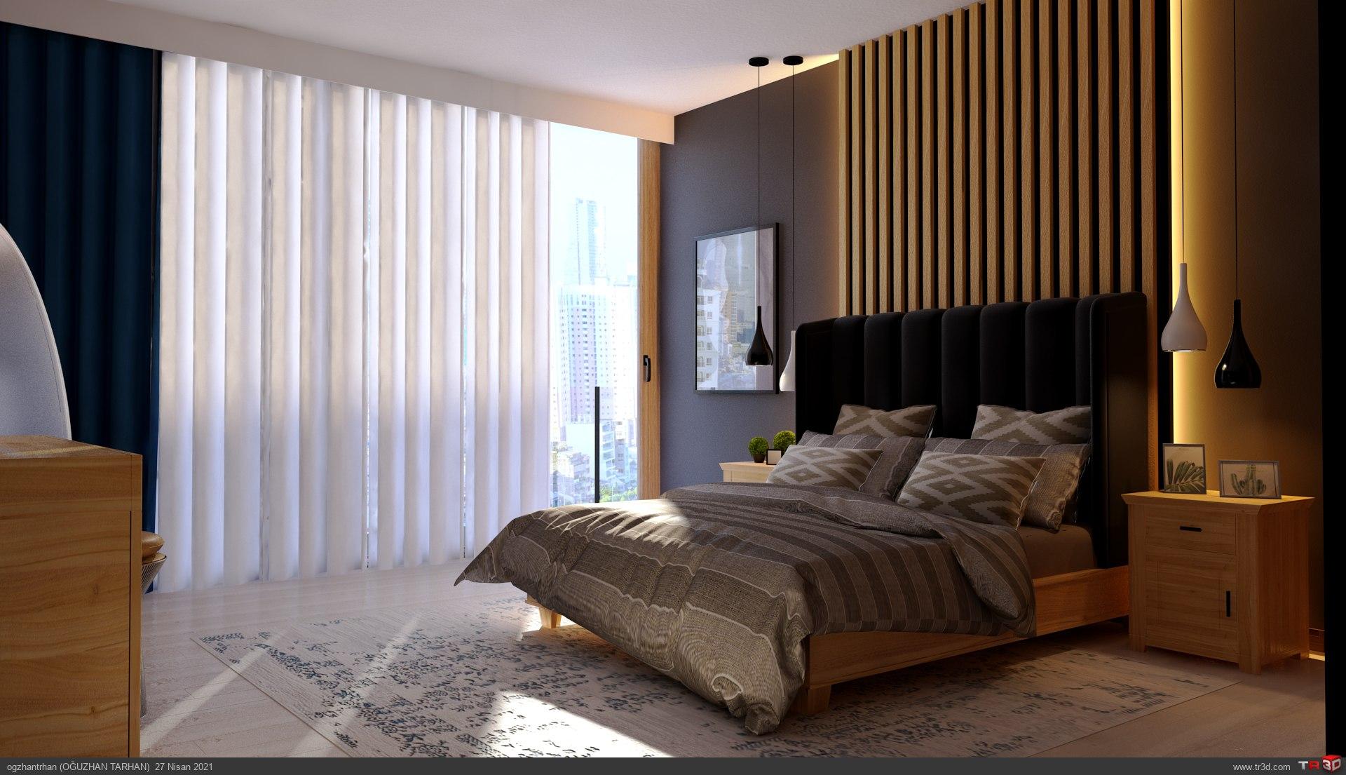 Yatak Odası+Giyinme Odası 1