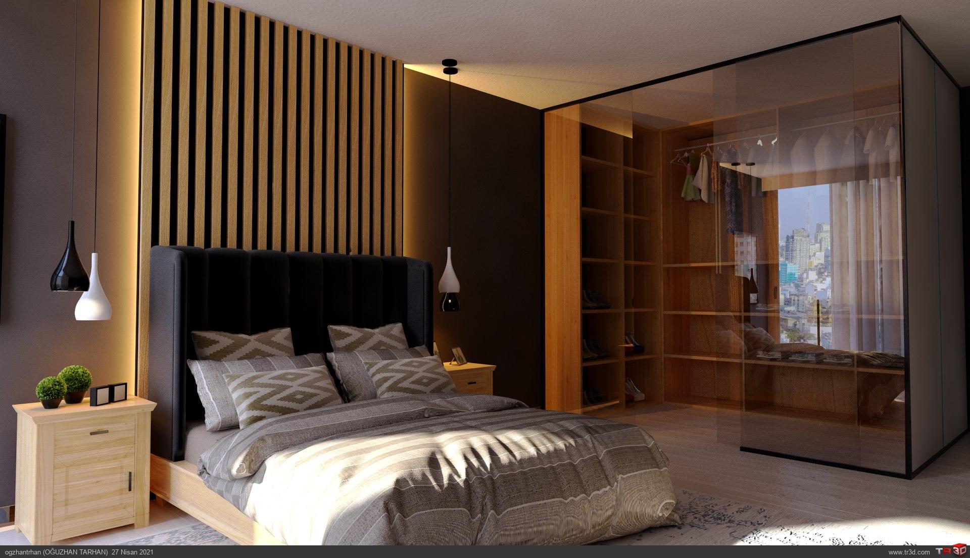 Yatak Odası+Giyinme Odası 2