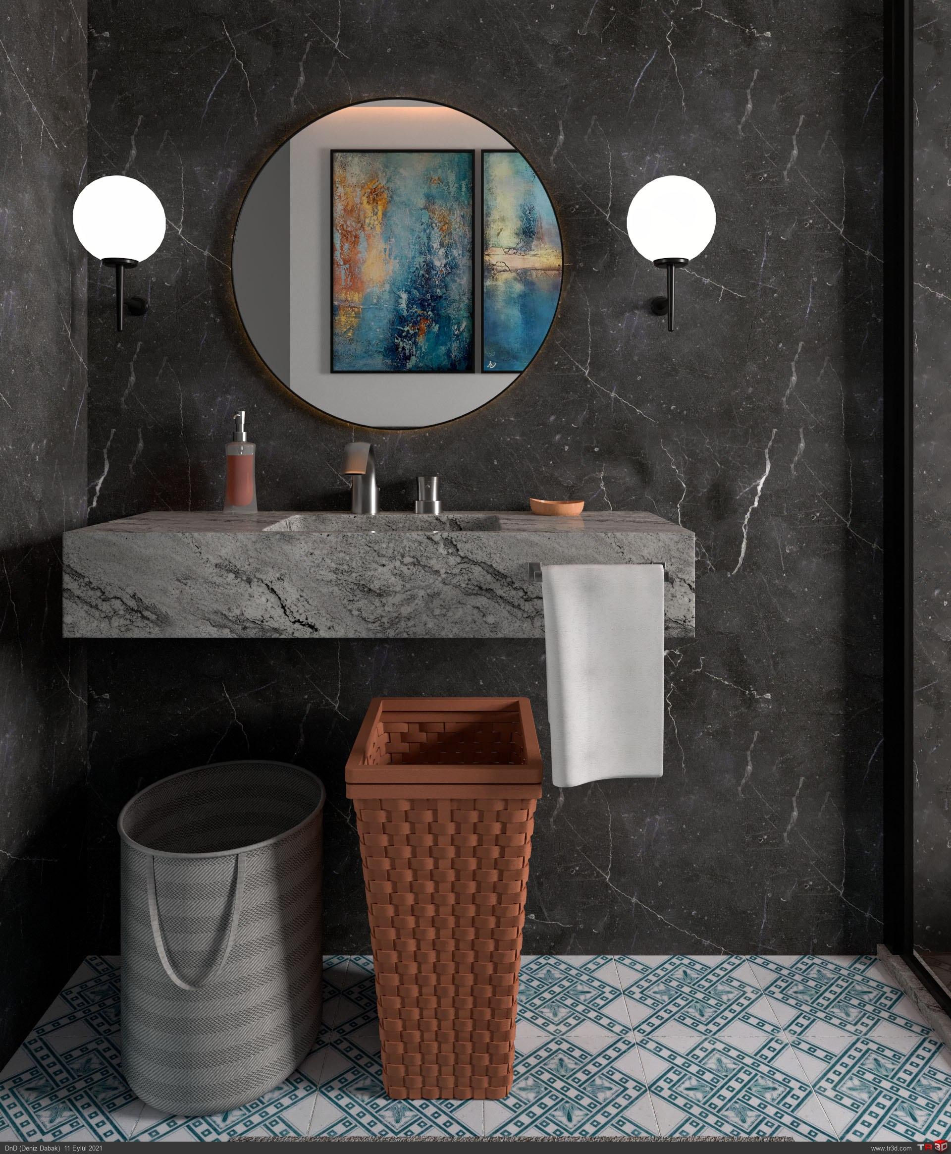 Modern Banyo 1