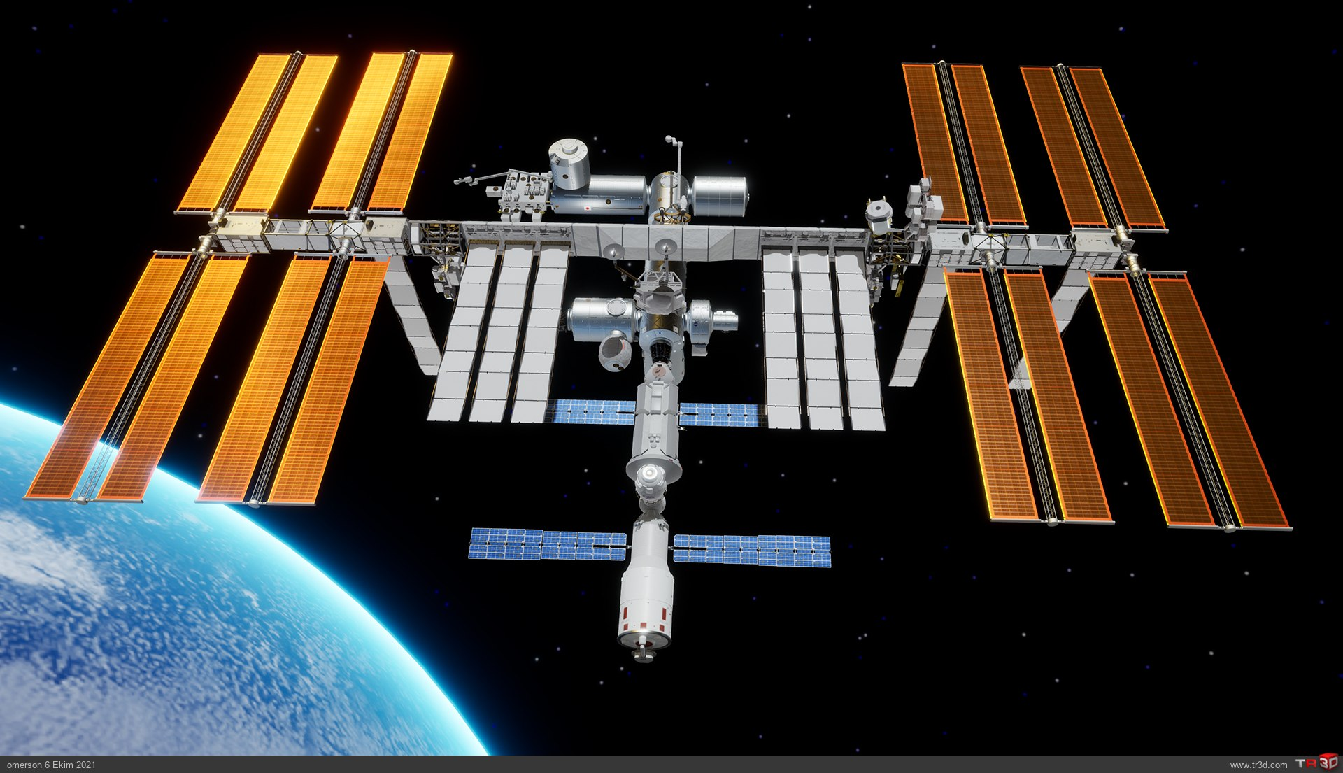 International Space Station ISS 1