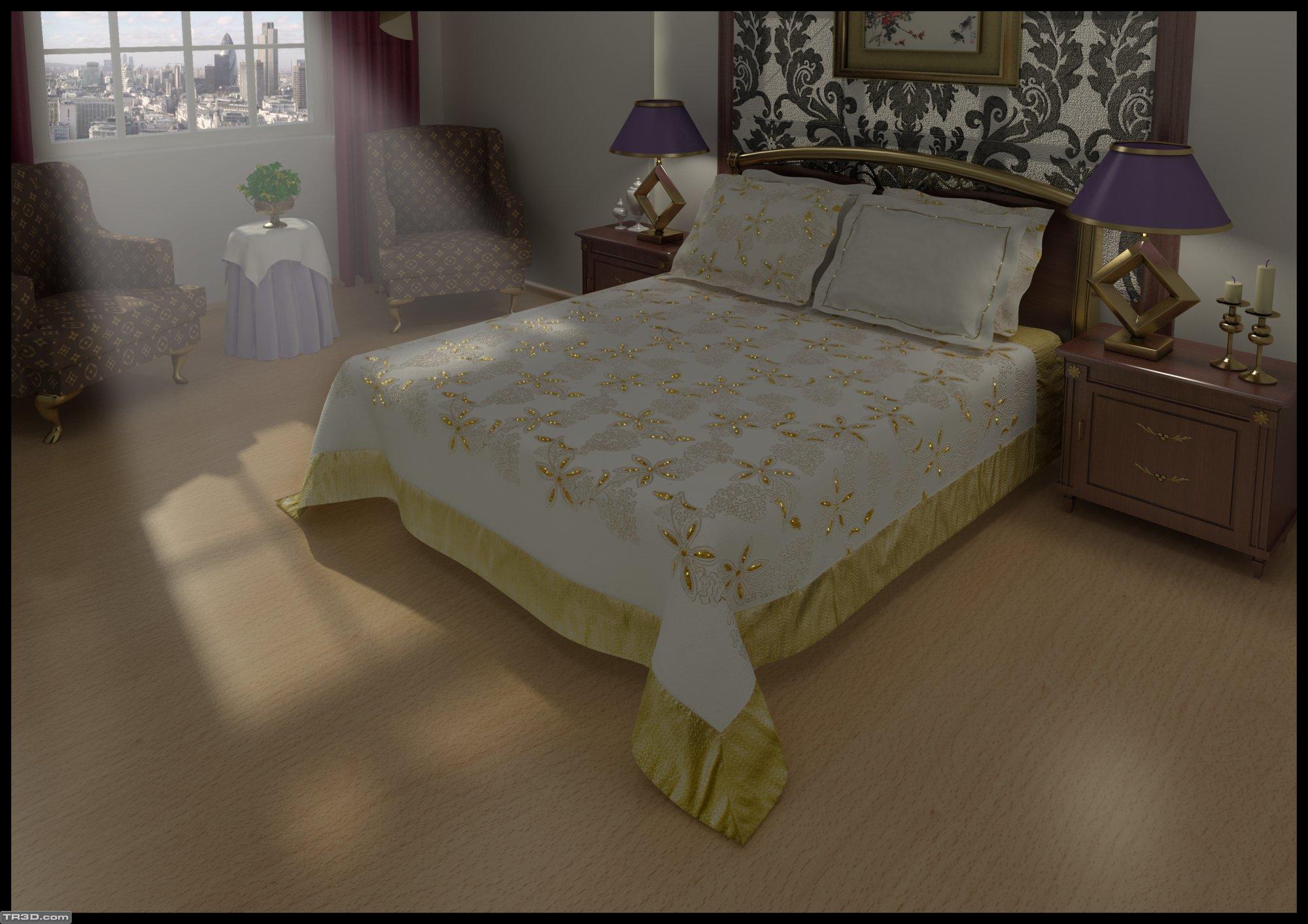 Yatak Örtüsü 2