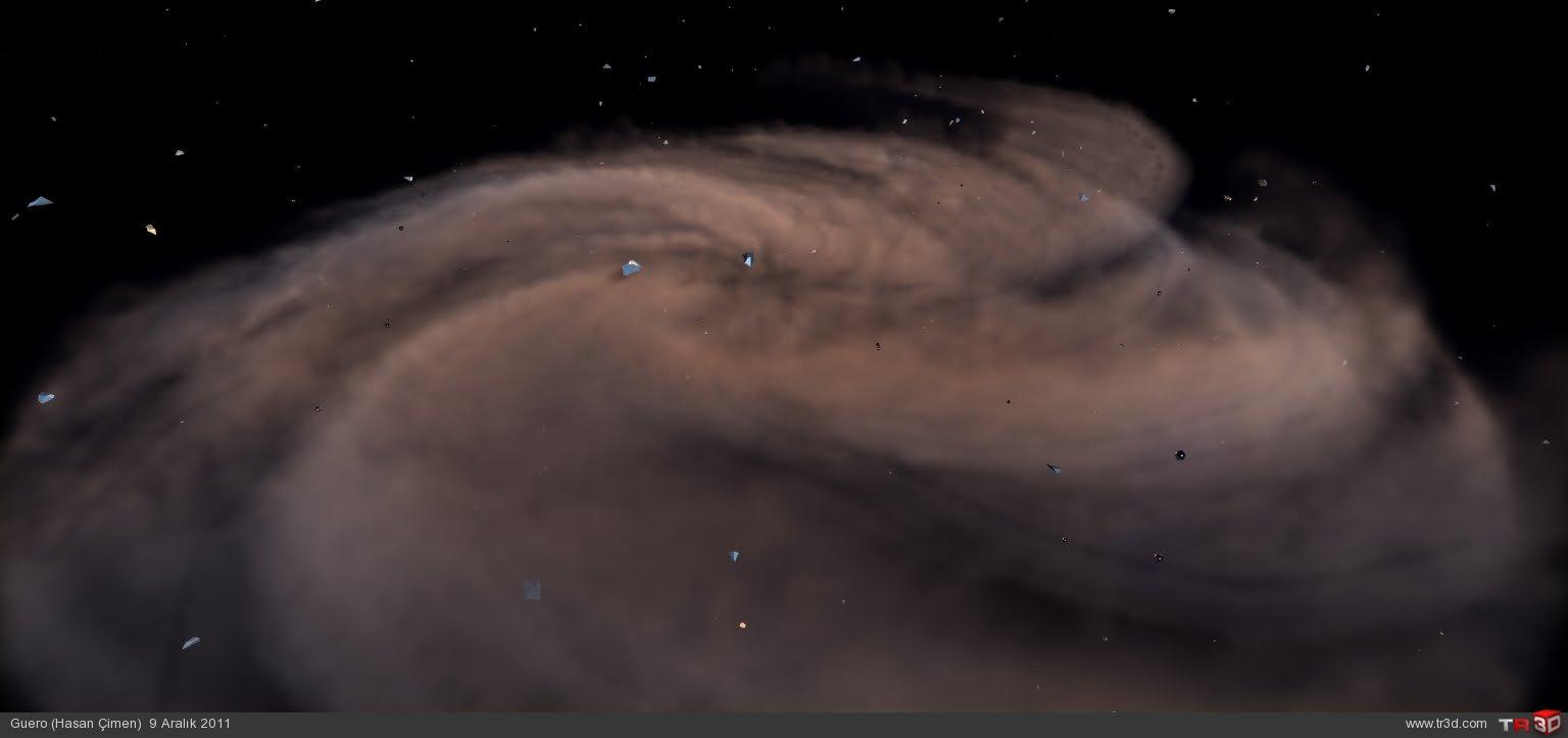 Spiral Galaxy-Fumefx 2