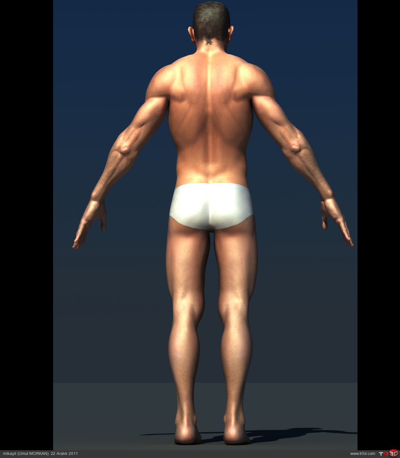 Male character modeling(Erkek karakter modelemesi) 1
