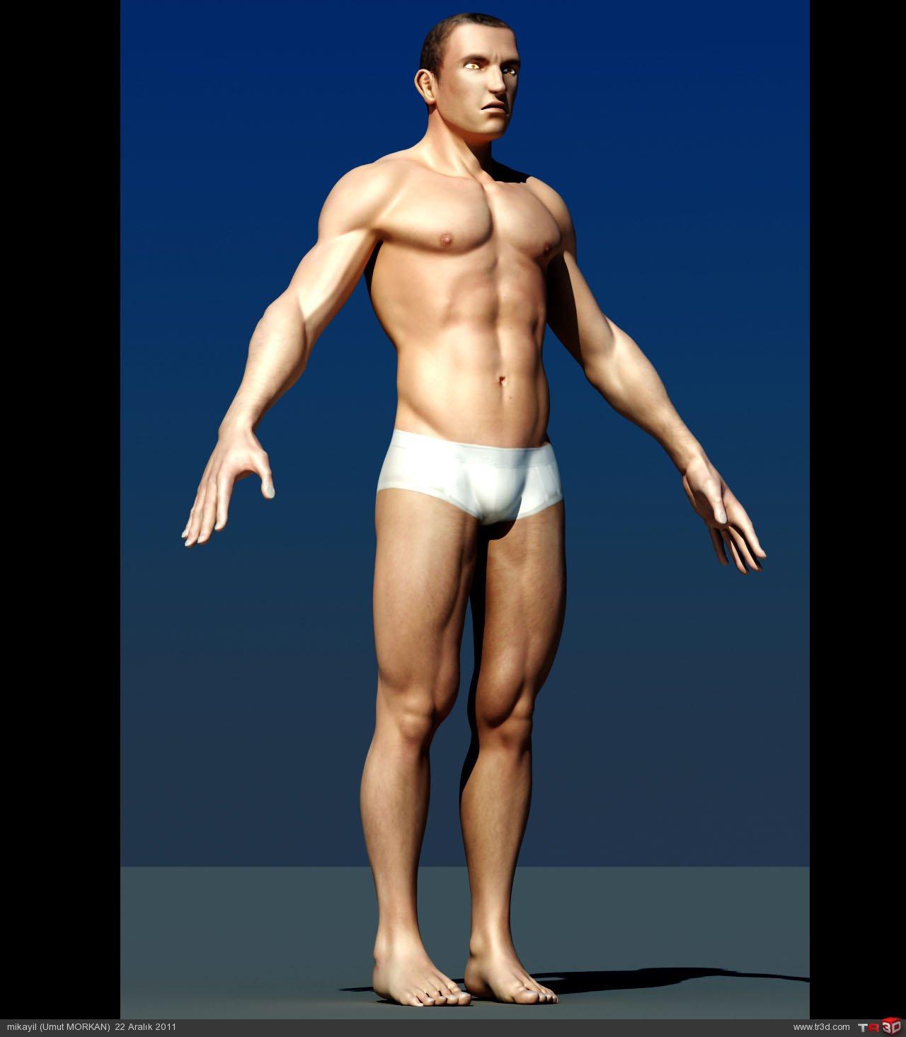 Male character modeling(Erkek karakter modelemesi) 2