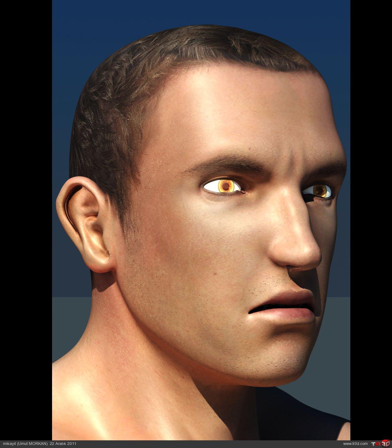 Male character modeling(Erkek karakter modelemesi) 3