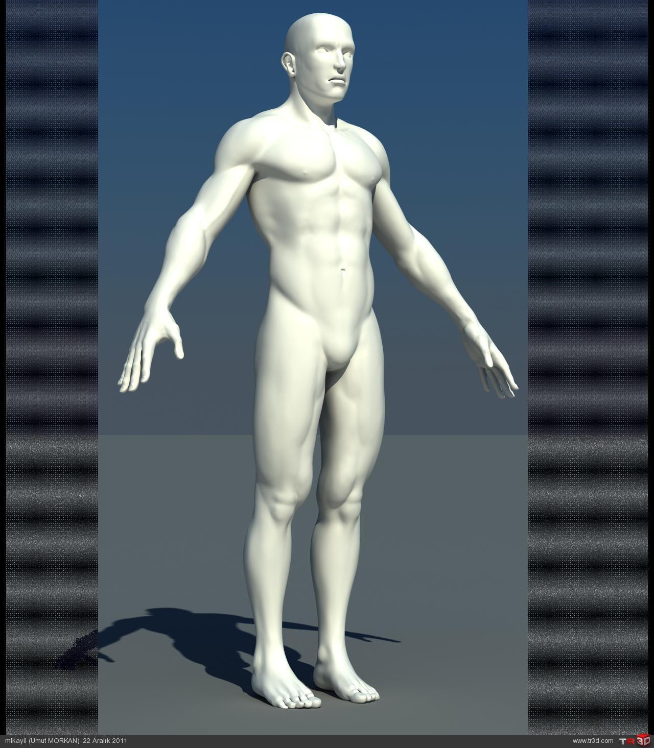 Male character modeling(Erkek karakter modelemesi) 4