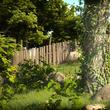 Bahçe detay