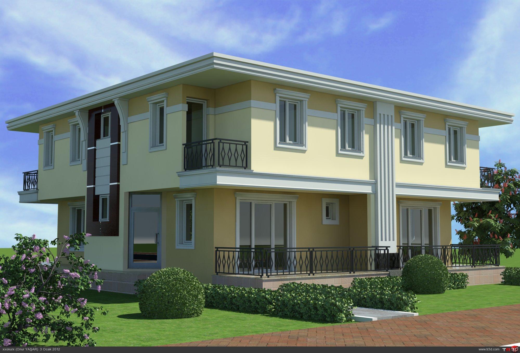 Villa Dış Cephe Tasarımları
